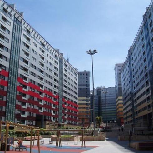 Revestimiento en Edificios Habitacionales / Trespa