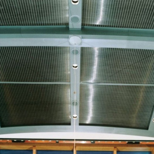 Metal Fabric Ceilings - Sambesi