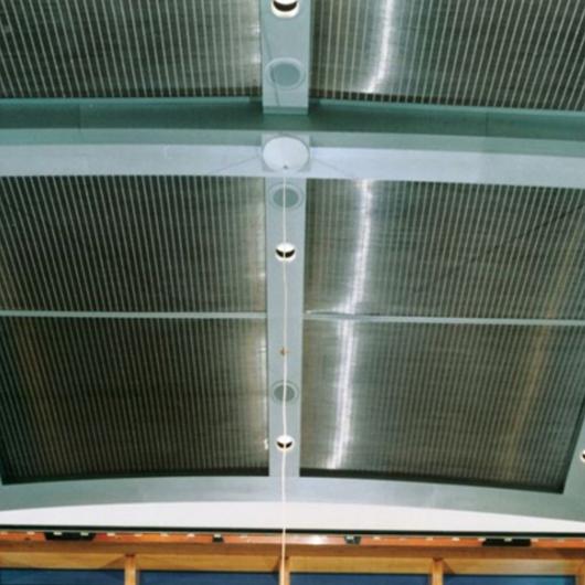 Metal Fabric Ceilings - Sambesi / GKD Metal Fabrics
