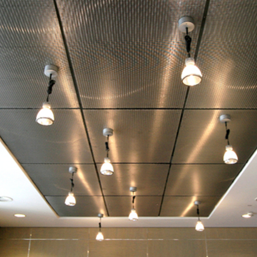 Metal Fabric Ceilings - Ellipse 52