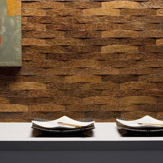 Wooden Wall Panels - Plyboo Durapalm Woven Palms / Intectural