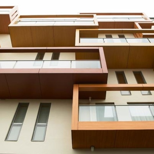 Placas Wood Decors para edificações