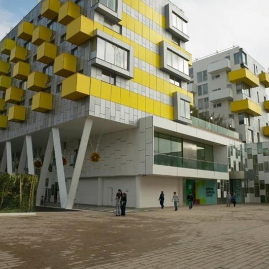 Placas para exterior en proyectos residenciales / Trespa