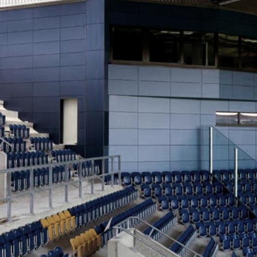 Revestimentos Exteriores em Estádios