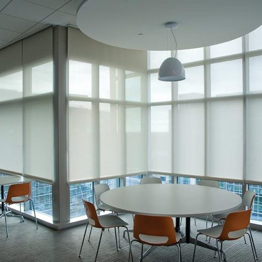 Shades - Manual Solar Shades by SWFcontract / Springs Window Fashions