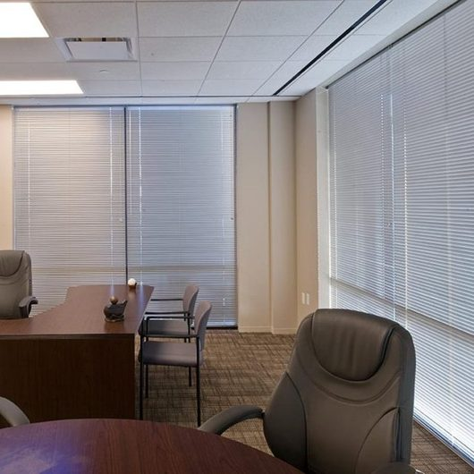 "1"" Aluminum Horizontal Blinds – Bali® CustoMiserTM by SWFcontract"