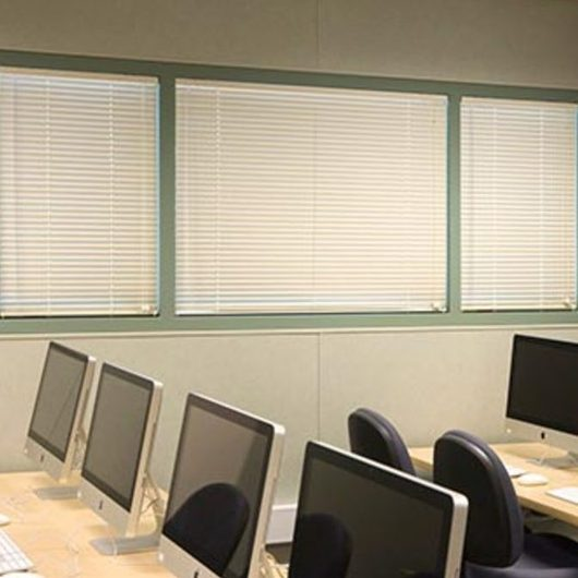"""2"""" Aluminum Horizontal Blinds – Bali® School Blinds by SWFcontract / Springs Window Fashions"""