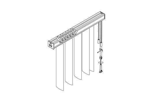 Vertical Blinds Graber 174 G 85 Dura Vue By