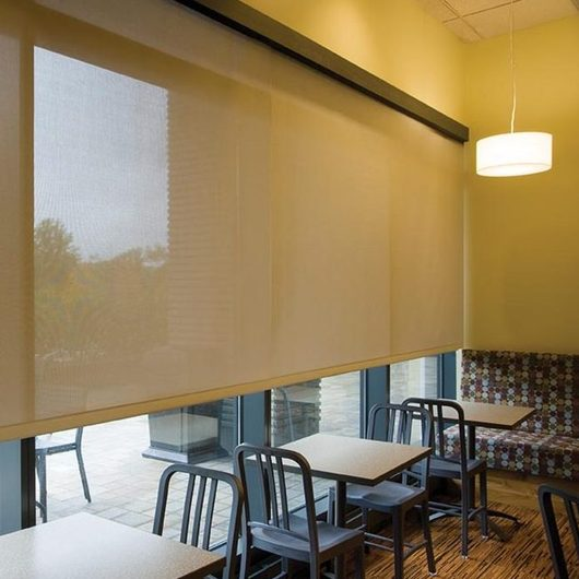 Shades - Motorized Solar Shades by SWFcontract / Springs Window Fashions