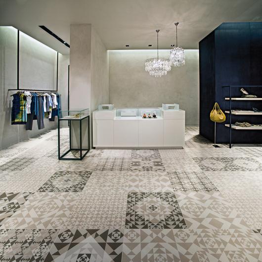 Porcelain Tiles - Frame Carpet / Ceramiche Refin