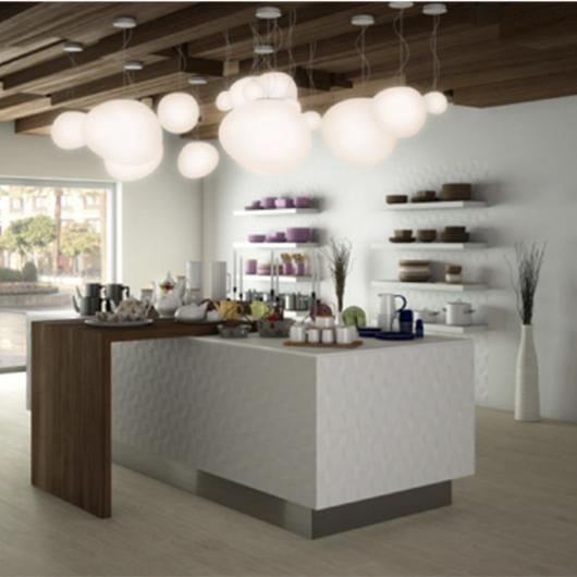 Revestimiento Ceramicas Serie Vantage de Saloni / MK