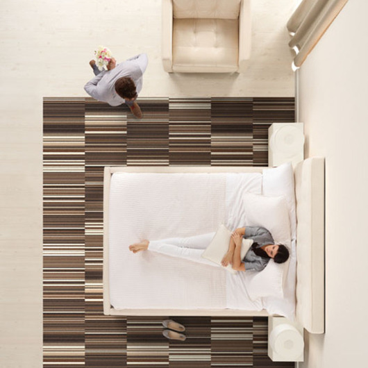 Modular Carpets - Residential / Interface