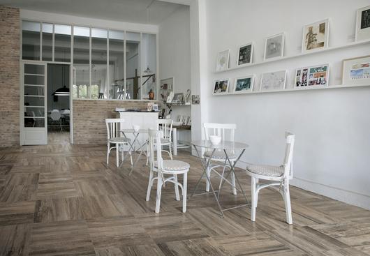 Porcelain tiles barrique collection from ceramiche refin for Carrelage refin