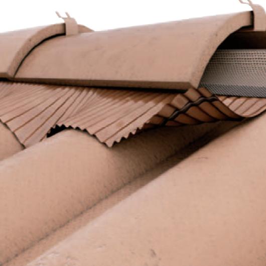Bajo cumbrera ventilada flexible - Net Roll / Rothoblaas