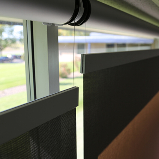 Shades - Bottom Up Shades by SWC / Springs Window Fashions