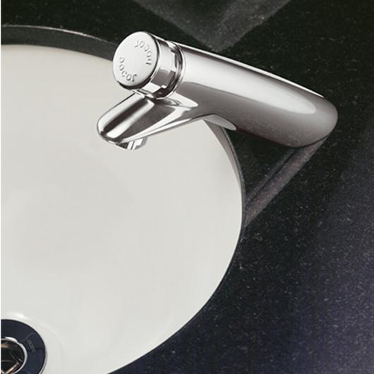 Grifería de mesa para lavatorio Pressmatic 110 de Docol