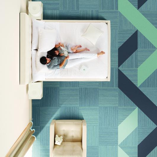 Modular Carpets - Guest Room / Interface