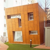 Trespa Meteon: Placas Wood Decors para edificaciones  (1) Placas Wood Decors para edificaciones