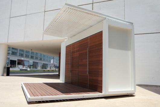 Quioscos de bkt mobiliario urbano for Construccion de modulos comerciales