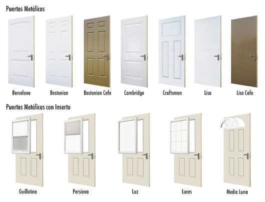 Puertas met licas de jeld wen - Catalogo puertas metalicas ...