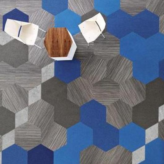 Alfombra Institucional Hexagon / Terza