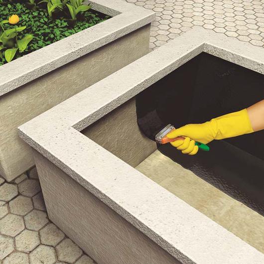 Impermeabilizaci n de estructuras enterradas y jardineras for Estanque de concreto