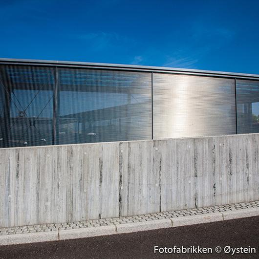 Architectural Wire Mesh - MULTI-BARRETTE 8130 / HAVER & BOECKER