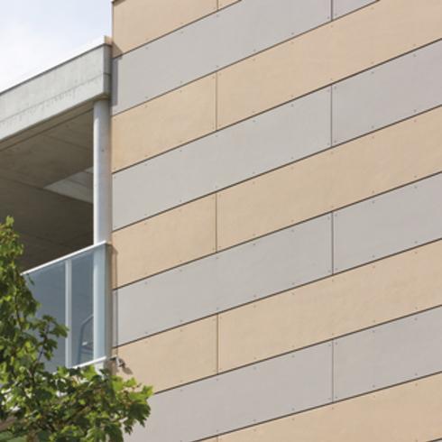 Placa de Fibrocemento de Alta Densidad, Etercolor para Fachadas Ventiladas