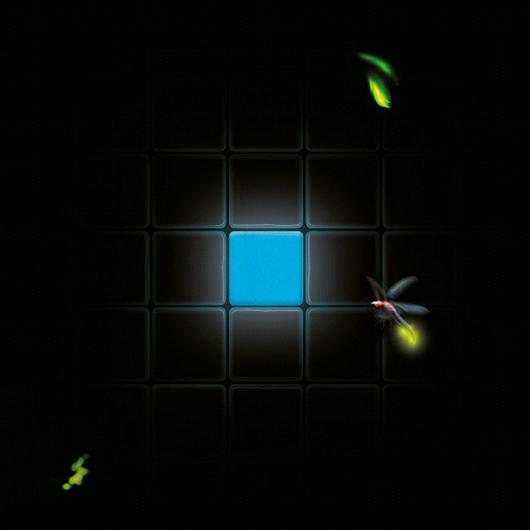 Mosaico de Vidrio Luminiscente / Atika