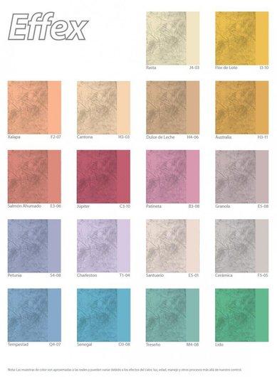 Pinturas effex m rmol de comex for Colores para muros interiores