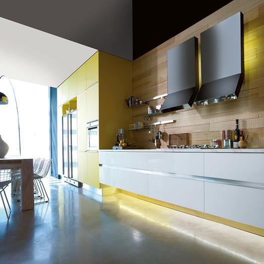 Muebles de Cocina Vidrio Sobre Lacado MITON