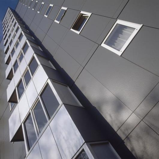 Paneles para Fachadas Ventiladas en Renovaciones / Trespa