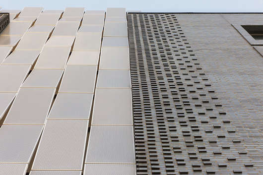 Custom Architectural Metal Wall Panels : Façade panels perforated from metaltech usa
