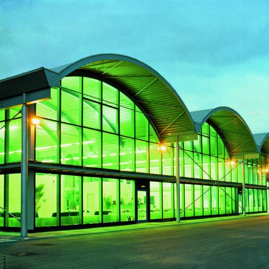Vidro de Proteção Solar Emerald – Verde Intenso