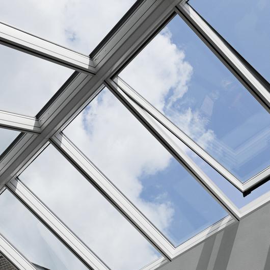 Modular skylights longlight 5 25 from velux for Large skylight