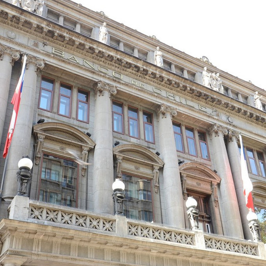 Ventanas de PVC en el Banco de Chile
