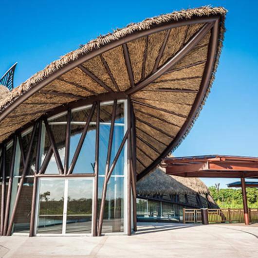 Techo de hojas de polietileno modelo rio de palmex for Modelos de techos