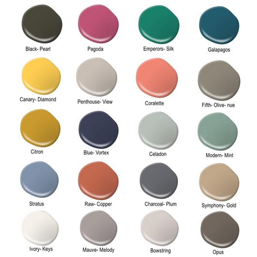 Tendencias de color 2016 de behr pro for Pintura para interiores 2016