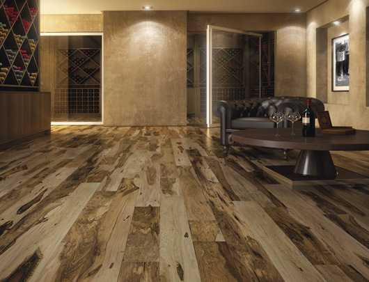 Hardwood Flooring Smooth Collection From Indusparquet