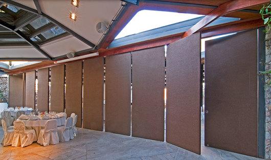 Sistema apilable para divisiones de ambientes interiores y - Divisiones en madera ...