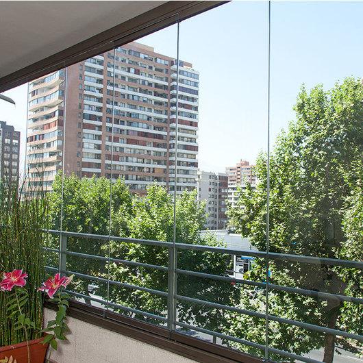 Sistema Plegable para Cierre de Terrazas y Balcones con Antepecho (Mirador)