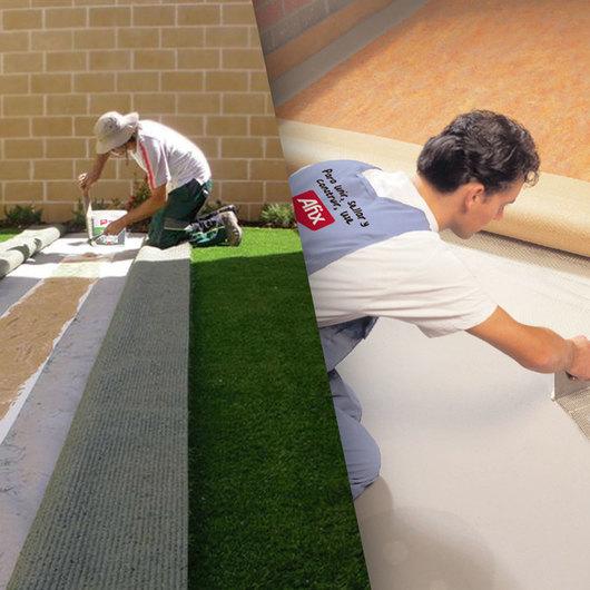 Adhesivos frag es materials de plataforma arquitectura - Revestimiento adhesivo pared ...
