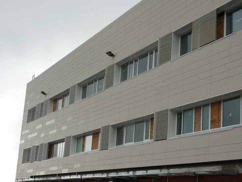 Instalacion fachada ventilada