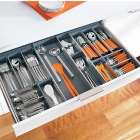 Organizadores interiores Orgaline para muebles de cocina / Hbt