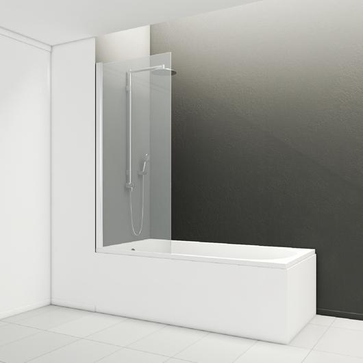 Mampara Glas cristal fijo para bañera / Wasser / CHC