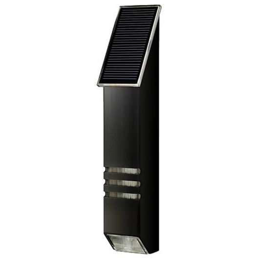 Solar Powered LED Accent Light - StarLight Black / AGS Stainless