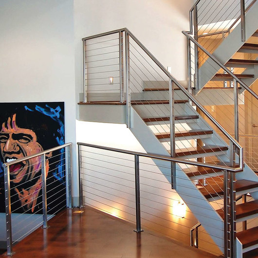 Stainless Steel Cable Railing - Rainier Round Top