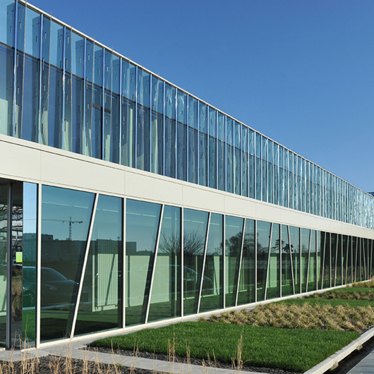 Aluminum Curtain Walling - GEODE / Technal