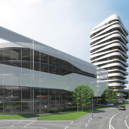 Software Allplan Arquitectura en Proyecto Sky-high, Alemania