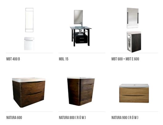 Muebles de ba o tecnobath de valmex for Mueble alto para bano